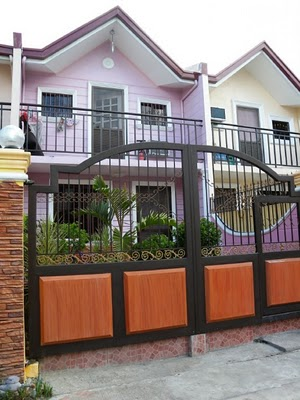 Sample Gated House at Las Palmas Subdivision in Bulacan