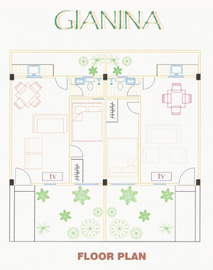 Floor Plan for Angelica House Design