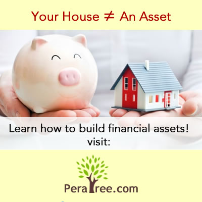 your house is not an asset