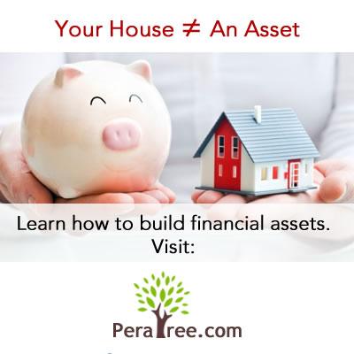 house is not an asset