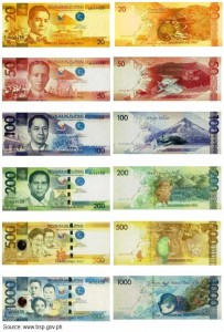 The New Philippine Peso Bills, Since December 2010