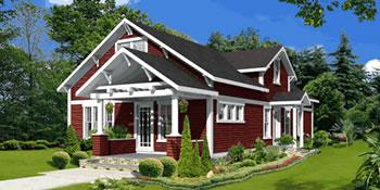 house plan - bungalow